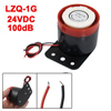 LZQ-1G Wired Continuous Sound Electronic Alarm Buzzer 6-24VDC 100...