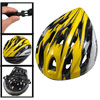 Man Woman Black Yellow Striped Skateboard Bike Bicycle Cycling He...
