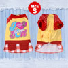 Lovely Yellow Pet Yorkie Dog Cat Clothes Winter Coat Jacket Blous...