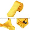 Allegra K Self Tie Solid Office Neckwear Prom Necktie for Men Wom...