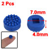 7.0mm OD 4.0mm Height Replacement Plastic TrackPoint Blue Cap 2 P...