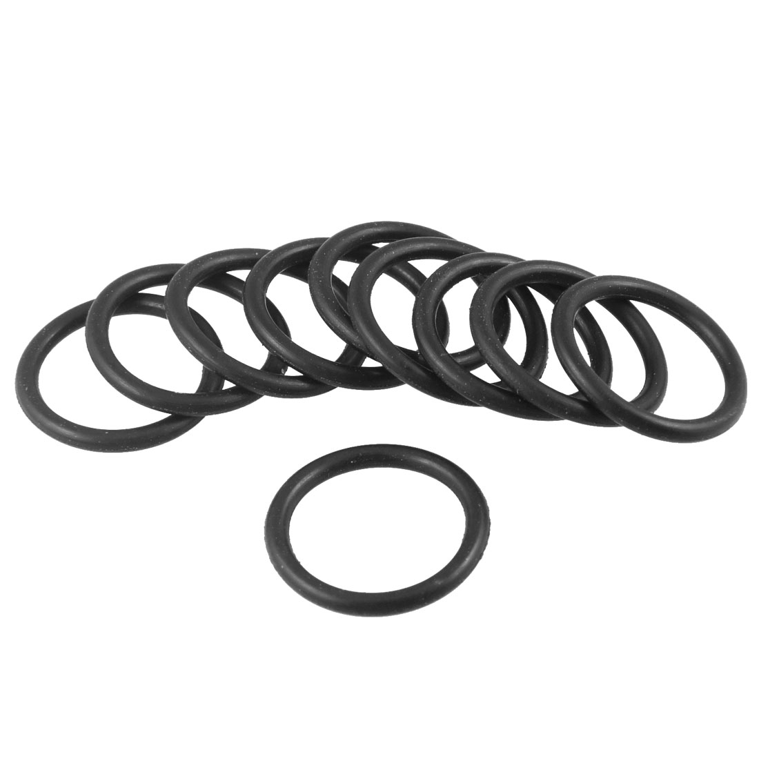 18mm-x-2mm-Automobile-NBR-O-Rings-Hole-Sealing-Gaskets-Washers-10-Pcs