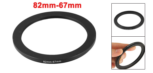 82mm to 67mm Camera Filter Lens 82mm-67mm  Ring Adapter