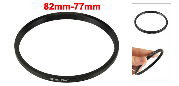 Camera Repalacement 82mm-77mm Metal  Filter Ring Adapter