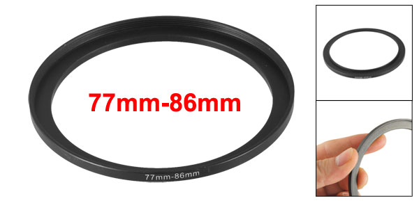 77mm to 86mm Camera Filter Lens 77mm-86mm Step Up Ring Adapter