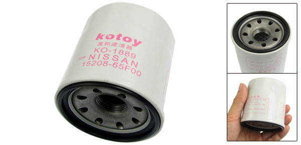 White Oil Filter for Infiniti EX35 G20 G25 G35 G37 M35 M35h Hybrid M37