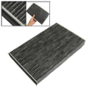 Black Active Carbon Fiber A/C Cabin Air Filter for Buick Century