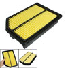 Auto Truck Car Air Filter Black Yellow for Acura TSX 2012-2009