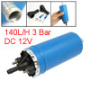 Blue Alloy Shell 140L/H EFI Electric Fuel Pump for Car Auto