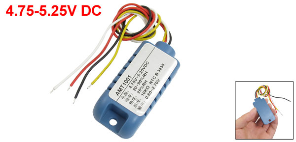 10K Ohm Resistance Temperature Humidity Sensor Module 4.75-5.25V DC AM1001
