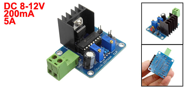 DC 8-12V Frequency PWM Single Output Adjustable Module