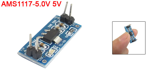 Electronic Parts Power Supply Module AMS1117-5.0V 5V