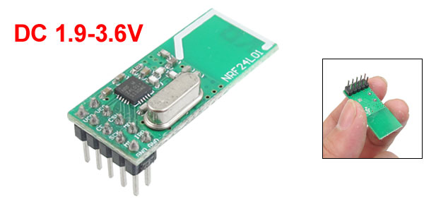 NRF24L01+ 2.4G Wireless Communication Module 1.9-3.6V DC