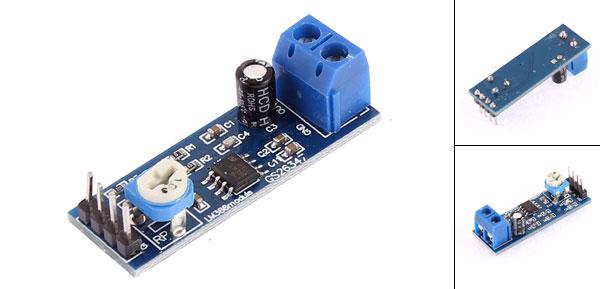 LM386 Audio Amplifier Module 200 Times 5-12V 10K Adjustable Resistance