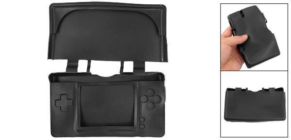 Black Silicone Protecting Soft Case Cover For Nintendo NDSL DSL