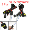 2 x Car H1 35W HID Xenon Replacement Bulb Front Light Headlight 8000K New DC 12V