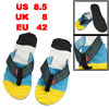 Man Skidproof Massage Slippers Beach Pool Flip Flops Size 42.5