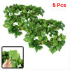 5 Pcs Home Room Detail Green Artificial Grape Vine 2.4M