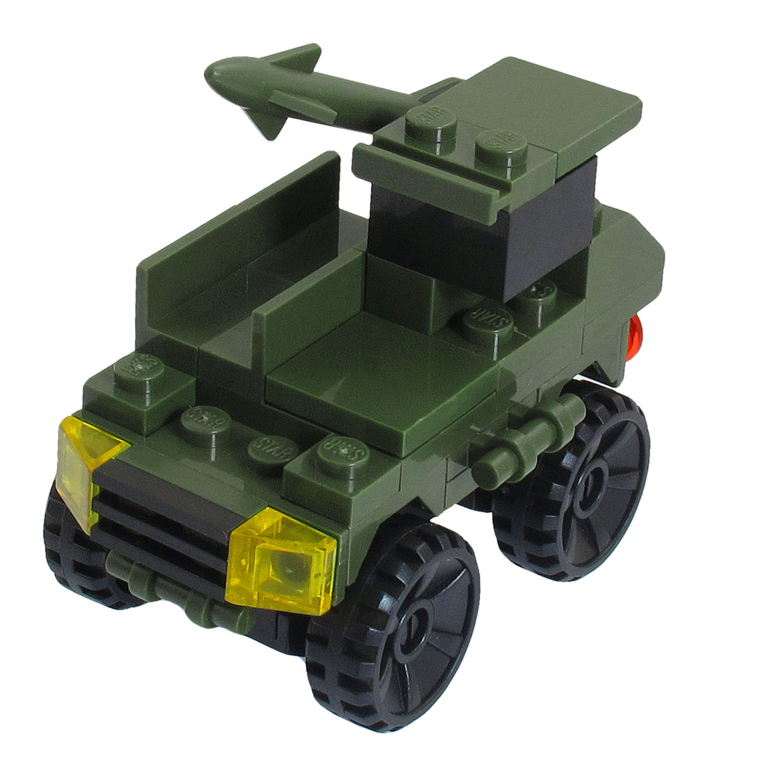Plastic-Army-Green-Assembling-Military-Tank-Toy-for-Children