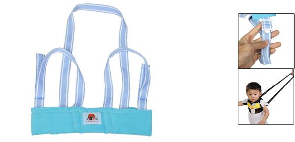 Toddler Baby Safety Harness Adjustable Belt Walking Walker Assistant Sky Blue
