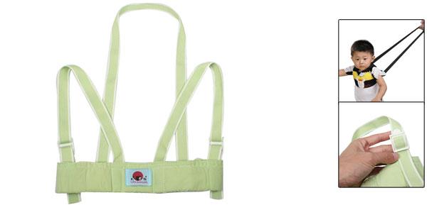 Toddler Baby Safety Harness Adjustable Belt Walking Walker Assistant Green