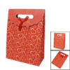 Bowknot Decoration Hearts Print Beige Orange Red Gift Paper Bag H...