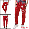 Mens Red Fashion Smile Design Front Slan...