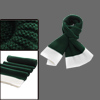 Mens Dark Green White Ribbed Chunky Knit Details New Fashion Scar...