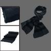 Mens Dark Gray Blue Korea Stylish Thick Chunky Knit Scarf