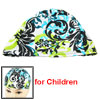 Kids Assorted Color Floral Vines Decor Stretchy Swimming Bathing ...