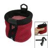 Car Auto Air Vent Red Black Phone Cup Pouch Holder Bag