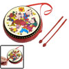 Children Dragon Fish Decor Plastic Chinese Character Drum Toys w ...
