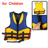 Kids Adjustable Boating Swim Snorkeling Life Vest Jacket Yellow Blue