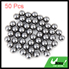 50 Pcs Replacing Parts 6mm Diameter Bike Bicyle Steel Ball Bearin...