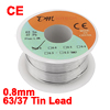 0.8mm Diameter Tin Lead Soldering Solder Wire Rosin Core Reel