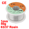 1.2% Flux 1mm Diameter Tin Lead Soldering Rosin Core Wire Silver ...