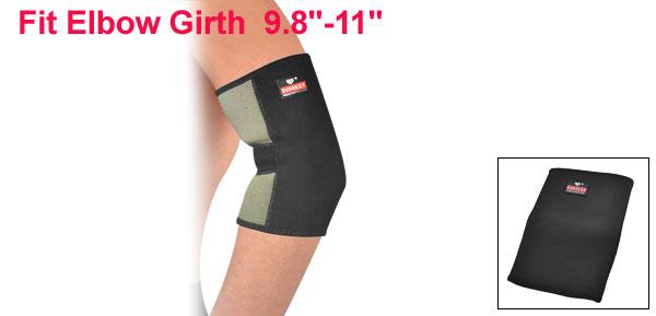 Black Elastic Sports Protective Neoprene Elbow Support Sleeve Brace
