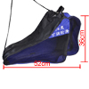 Black Mesh Zipper Skating Shoes Rollerskate Shoulder Strap Carry ...