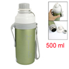 500ml Green Stainless Steel Boby Rabbit Print Cylinder Thermos Mu...