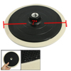 """Off White Black Cleaning Tool Threaded Polishing Wheel 7"""" for Car..."""