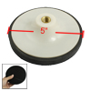 "White Black Cleaning Tool Threaded Polishing Wheel 5"" for Car Aut..."