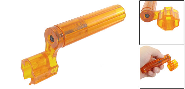 Orange Speed Peg Puller Winder Handy Tool for Guitars