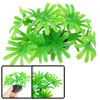 "3.1"" Height Aquarium Green Plastic Water Grass Fish Tank Decor"