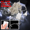 EU Plug White Light 100 LEDs 8 Modes Holiday Lights String 9.6M A...