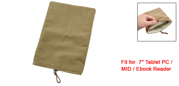 Brown Case Sleeve Bag Pouch for 7