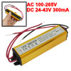AC 100-265V to DC 24-43V 300mA Water Resistant (8-12)x1W LED Driv...