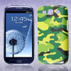 Green Camouflage Design IMD Hard Back Case Cover for Samsung Galaxy S3 SIII I9300