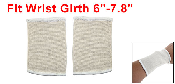Pair Wrist Strap Support Band Hand Sleeve Brace Basketball Tennis Gym Sports