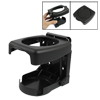 Black Plastic Folding Car Truck Drink Cup Can Bottle Holder Stand