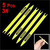 Plastic Repair Knit Net Needle Shuttle Fish Tackle Yellow 5.2 Inc...